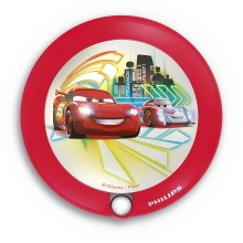 Philips 71765/32/16 - LED Kinderlamp met sensor DISNEY CARS 1xLED/0,06W/2xAAA
