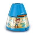 Philips 71769/05/16 - Lampe de table enfant avec projecteur DISNEY JAKE PIRATE 1xLED/0,1W/3xAA