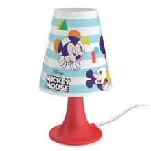 Philips 71795/30/16 - Lampe de table enfant DISNEY MICKEY MOUSE LED/2,3W/230V
