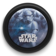 Philips 71924/30/P0 - Kinder LED Touch lamp STAR WARS LED/0,3W/2xAA