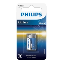Philips CR2/01B - Pile lithium CR2 MINICELLS 3V