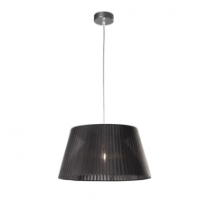 Philips Massive 40580/30/10 - Lustre suspension FLEURO 1xE27/60W noir