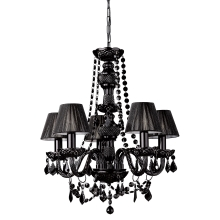 Philips Massive 41766/30/10 - Lustre suspension FLAUBO 5xE14/60W noir