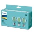 Philips - SET van 3 LED Lampen E27 / 8,5W / 230V 2700K