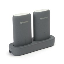 Power Bank 2x5000mAh/3,7V met dockingstation