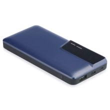Power Bank met display 10000mAh/3,7V blauw