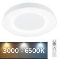 Rabalux - Dimbare LED Plafond Lamp LED/38W/230V wit + afstandsbediening 3000-6500K