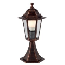 Redo 6104C - Buitenlamp LONDON 1xE27/42W/230V IP33