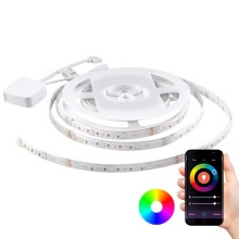 Ruban dimmable RGB LED Wi-fi + fonction musique LED/20W 5 m Tuya