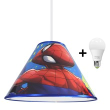 Suspension LED avec fil MARVEL SPIDER-MAN 1xE27/15W/230V