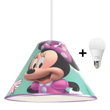 Suspension LED avec fil MINNIE MOUSE 1xE27/15W/230V