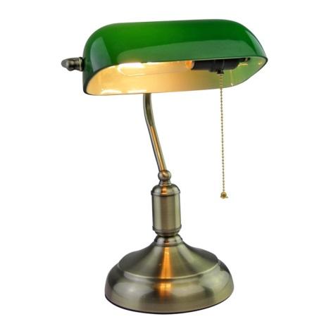 Tafellamp BANKER 1xE27/60W/230V