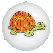 Top Light - Applique murale enfant 5502/40/Tortue 2xE27/60W