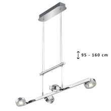TRIO - Suspension LED avec fil LENTIL 8xLED/2,3W/230V