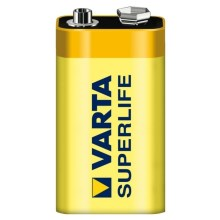 Varta 2022 - 1 pc Pile zinc-carbone SUPERLIFE 9V