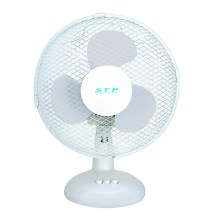 Ventilateur de table STP FT-23 25W 23cm blanc
