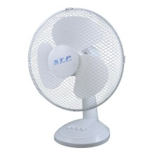 Ventilateur de table STP TF-30W1 35W 30cm blanc
